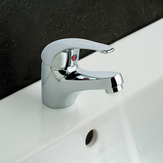 Lifestyle Photograph for a Matrix Mono Basin Mixer Tap