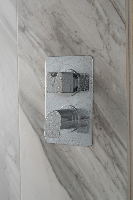 Lifestyle Photograph for a DX Photon 1 Outlet 2 Handle Concealed Thermostatic Shower Valve