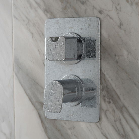 Lifestype Photograph for a DX Photon 1 Outlet 2 Handle Concealed Thermostatic Shower Valve
