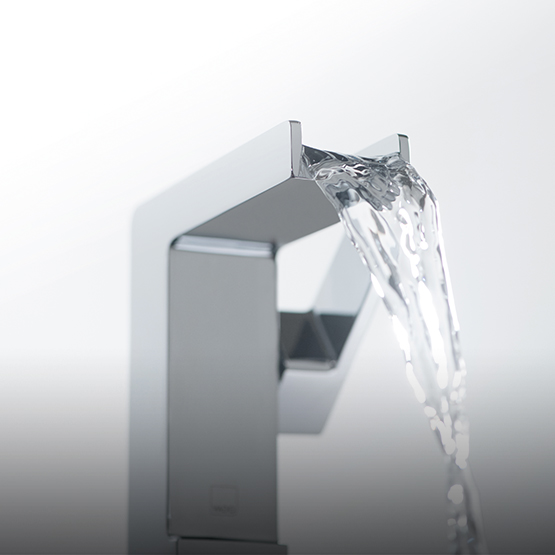 Lifestyle Photograph Featuring a Synergie Mono Basin Mixer Tap