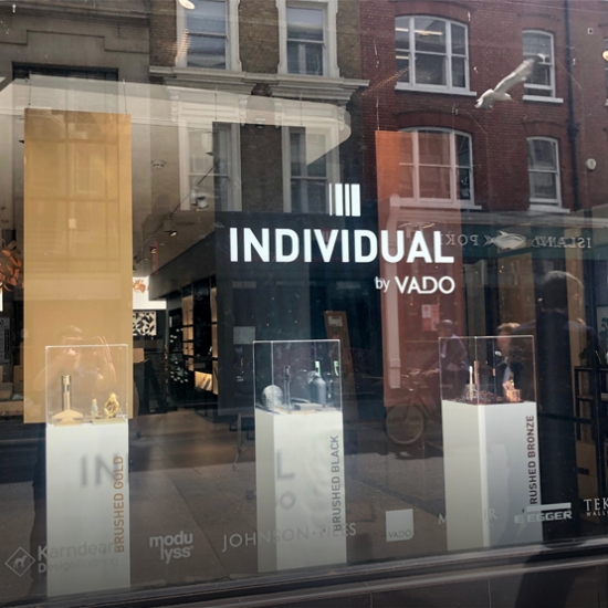 VADO Reveal New Window Display