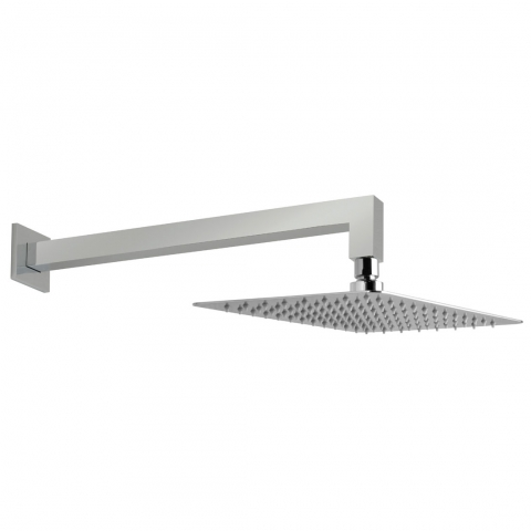 Rectangular Shower Head with Arm