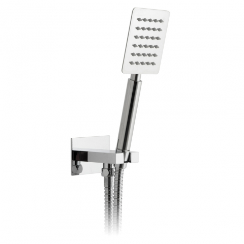 Product Photograph for an Aquablade Square Single Function Mini Shower Kit with Integrated Outlet