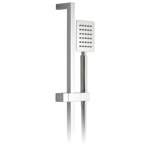 Product Photograph for an Aquablade Square Single Function Slide Rail Shower Kit