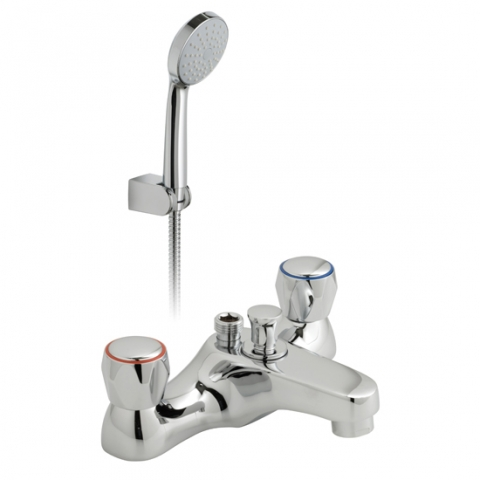 Product Photograph for an Astra Bath Shower Mixer with Shower Kit