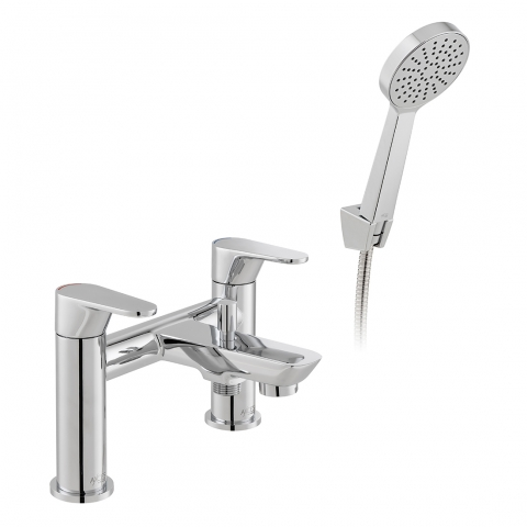 Product Photograph for an Axces by VADO Ava Bath Shower Mixer with Shower Kit
