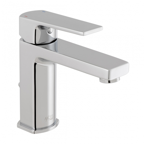Product Photograph for an Axces by VADO Ekko Mono Basin Mixer Tap with Pop-up Waste