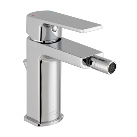 Product Photograph for an Axces by VADO Ekko Mono Bidet Mixer with Pop-up Waste