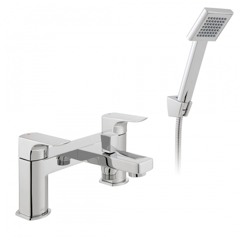 Product Photograph for an Axces by VADO Ekko Bath Shower Mixer with Shower Kit