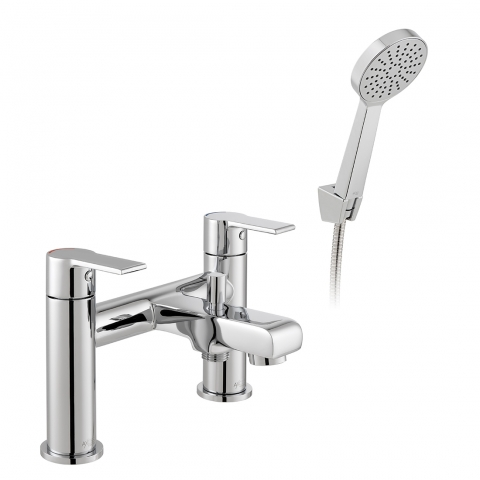 Product Photograph for an Axces by VADO Irlo Bath Shower Mixer with Shower Kit