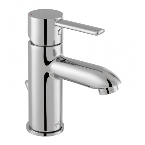 Product Photograph for an Axces by VADO Kore Mono Basin Mixer Tap with Pop-up Waste