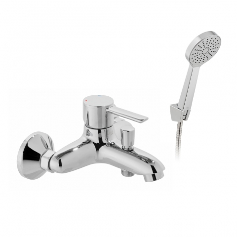 Product Photograph for an Axces by VADO Kore Wall Mounted Bath Shower Mixer with Shower Kit