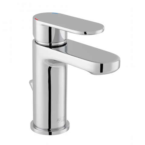 Product Photograph for an Axces by VADO Metiz Mono Basin Mixer Tap with Pop-up Waste
