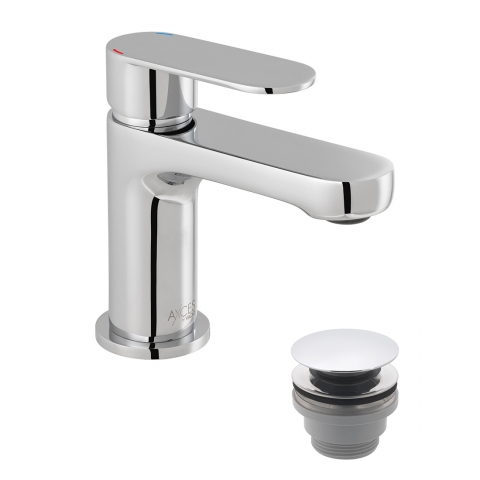 Product Photograph for an Axces by VADO Metiz Mini Mono Basin Mixer Tap