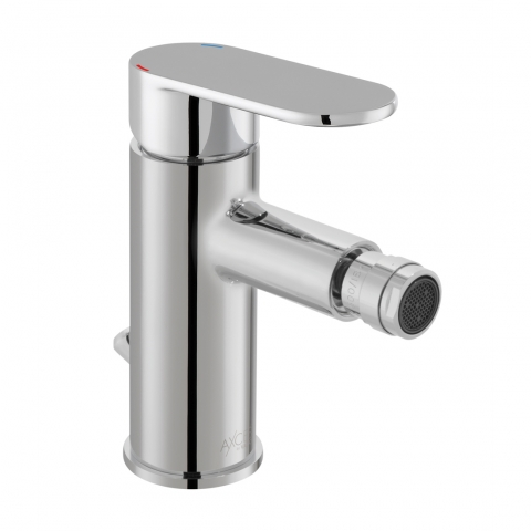 Product Photograph of an Axces Metiz Mono Bidet Mixer Tap with Pop-up Waste