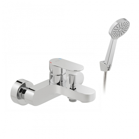 Product Photograph for an Axces by VADO Metiz Wall Mounted Bath Shower Mixer with Shower Kit
