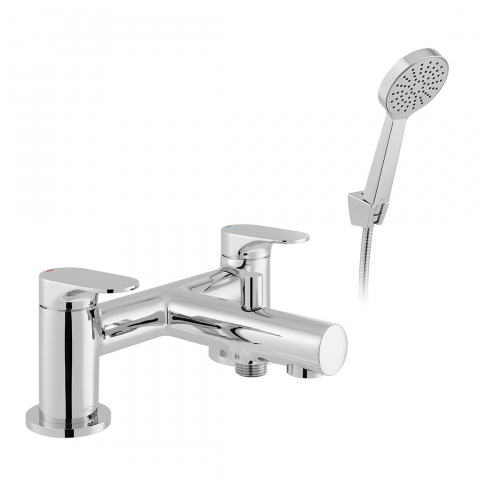 Product Photograph for an Axces by VADO Metiz Bath Shower Mixer with Shower Kit