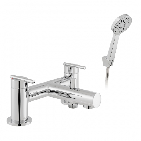 Product Photograph for an Axces by VADO Nuri Bath Shower Mixer with Shower Kit