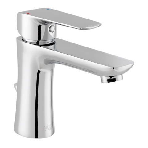 Product Photograph for an Axces by VADO Vala Mono Basin Mixer Tap with Pop-up Waste