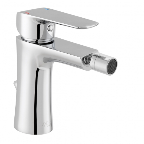Product Photograph for an Axces by VADO Vala Mono Bidet Mixer Tap with Pop-up Waste
