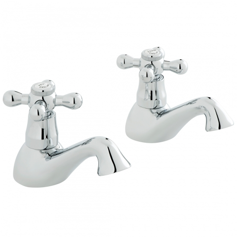 Product Photograph for an Axces by VADO Victoriana Bath Pillar Tap