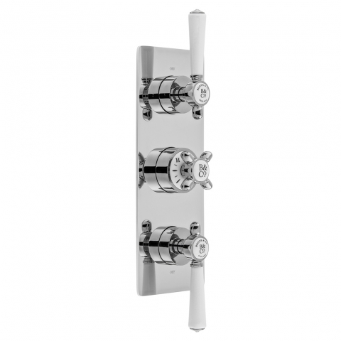 3 Outlet Thermostatic Valve