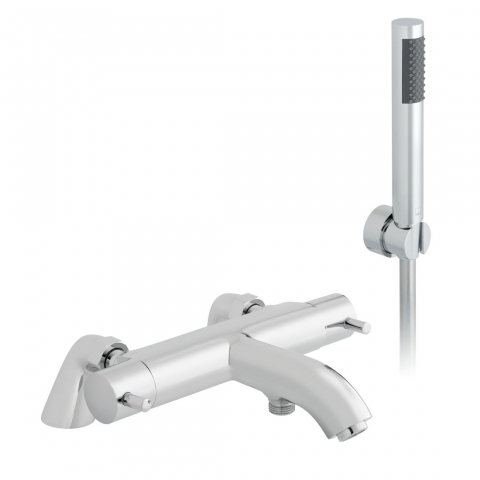 Product Photograph for a Celsius Thermostatic Bath Shower Mixer with Shower Kit