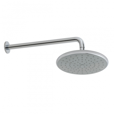 Product Photograph for a Ceres Shower Head with Wall Mounted Shower Arm