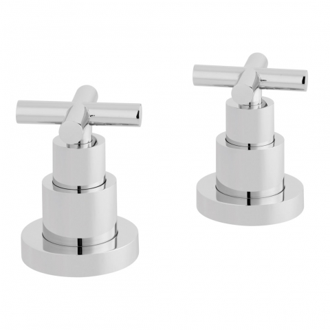 Product Photograph for a pair of Elements Deck Mounted Stop Valves