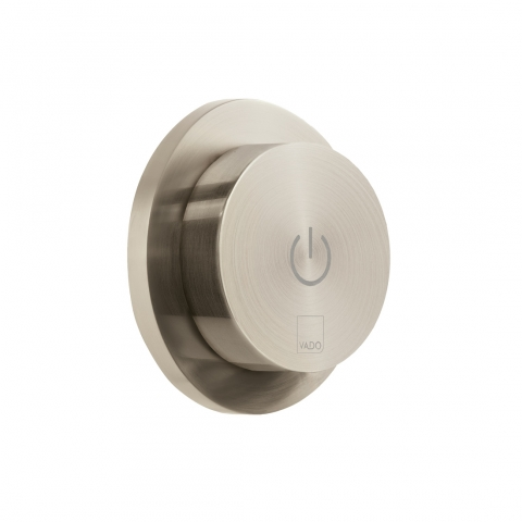 Product Photograph for an Individual by VADO Brushed Nickel Sensori SmartDial Remote