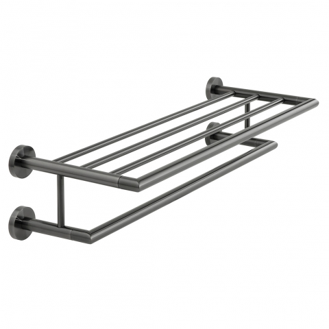 600mm Towel Shelf with Rail