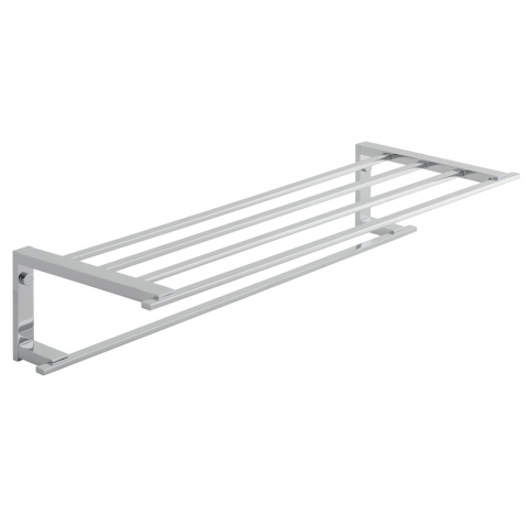 550mm Towel Shelf with Rail