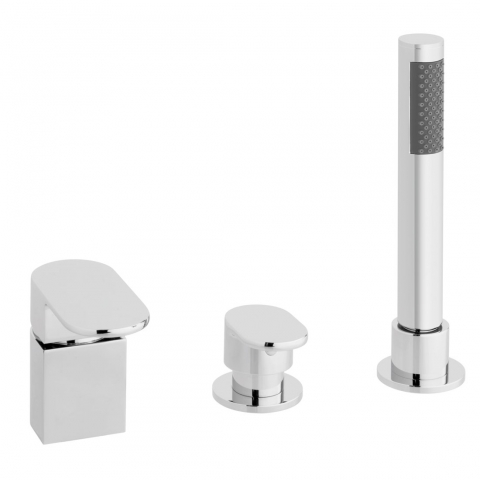Product Photograph for a Life 3 Hole Bath Shower Mixer (No Spout)