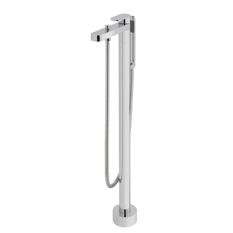 Product Photograph for a Life Floor Standing Bath Shower Mixer Tap with Shower Kit
