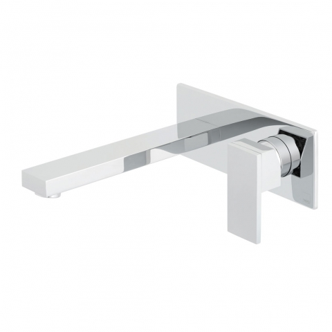 2 Hole Wall Mounted Basin Mixer