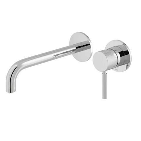 Slim Wall Mounted Basin Mixer