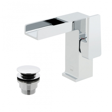 Product Photograph for a Synergie Mono Basin Mixer Tap with Universal Basin Waste