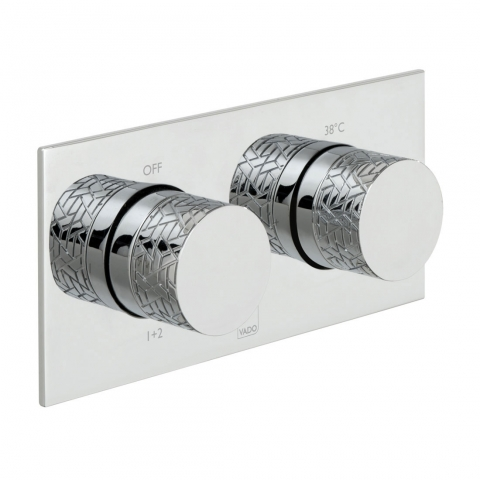 2 Outlet Thermostatic Valve