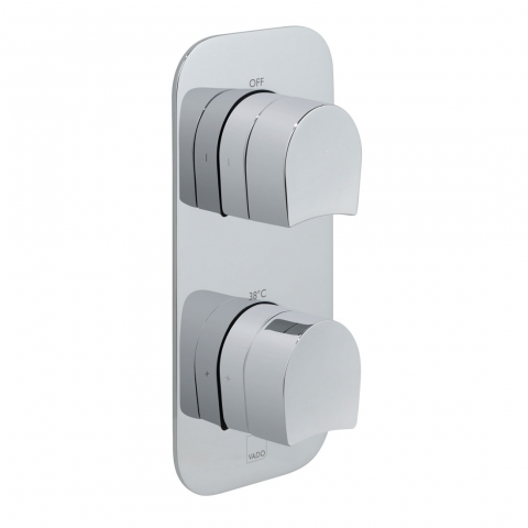 Product Photograph for a Tablet Kovera 2 Outlet 2 Handle Concealed Thermostatic Shower Valve