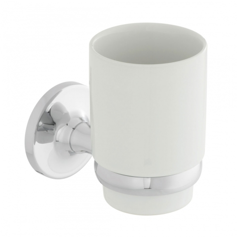 Product Photograph for a Tournament Ceramic Tumbler and Holder