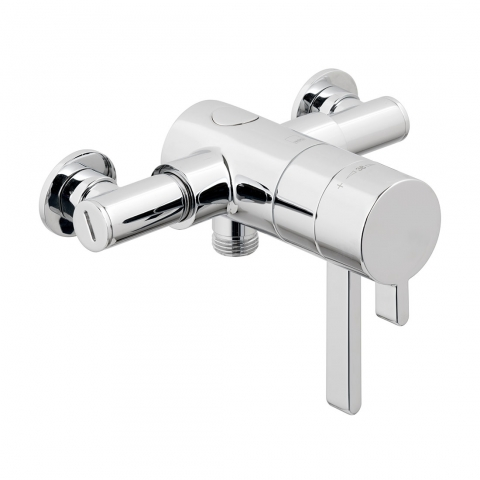 Product Photograph for a Mini Concentric 1 Outlet Exposed Thermostatic Shower Valve