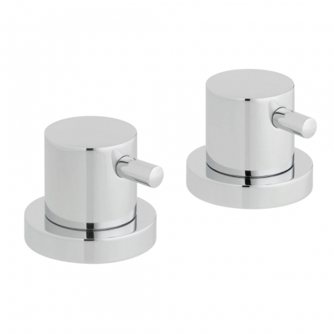 Pair of Deck Mounted Valves
