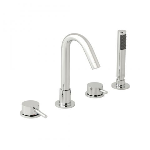 Product Photograph for a Zoo 4 Hole Bath Shower Mixer