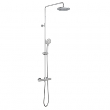 Product Photograph for an Atmosphere Air-Injection Thermostatic Shower Column