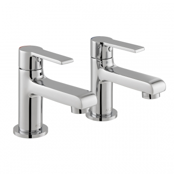 Product Photograph for a pair of Axces by VADO Irlo Basin Pillar Taps
