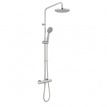 Product Photograph for an Axces by VADO Sirkel Thermostatic Shower Column