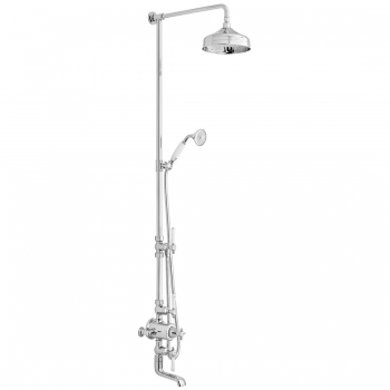 Product Photograph for a BOOTH & Co. Thermostatic Bath Shower Column