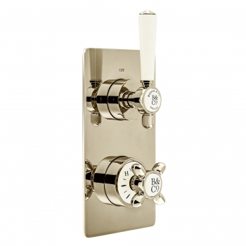 Product Photograph for a BOOTH & Co. Axbridge 1 Outlet 2 Handle Concealed Thermostatic Shower Valve