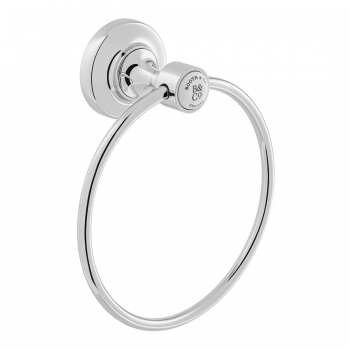 Product Photograph for a BOOTH & Co. Axbridge Towel Ring