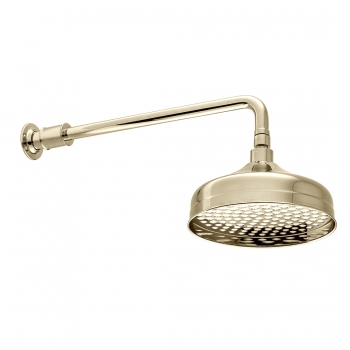 Product Photograph for a BOOTH & Co. Axbridge Shower Head with Wall Mounted Arm